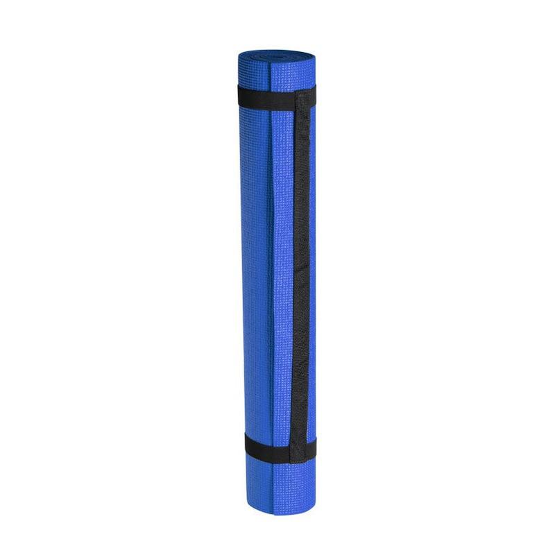 Yogamat sportmat blauw 180 x 60 cm