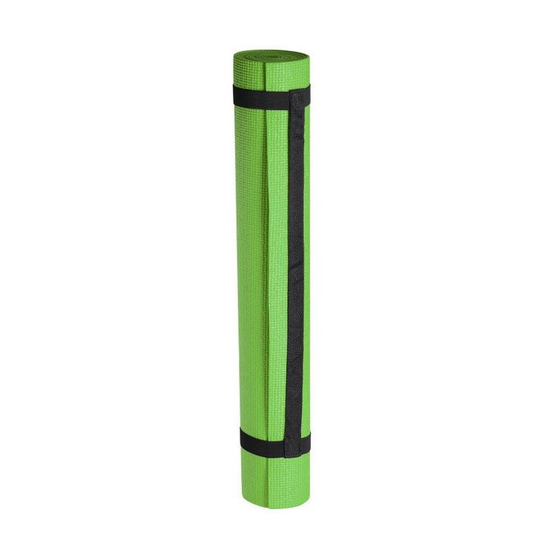 Yogamat/sportmat groen 180 x 60 cm