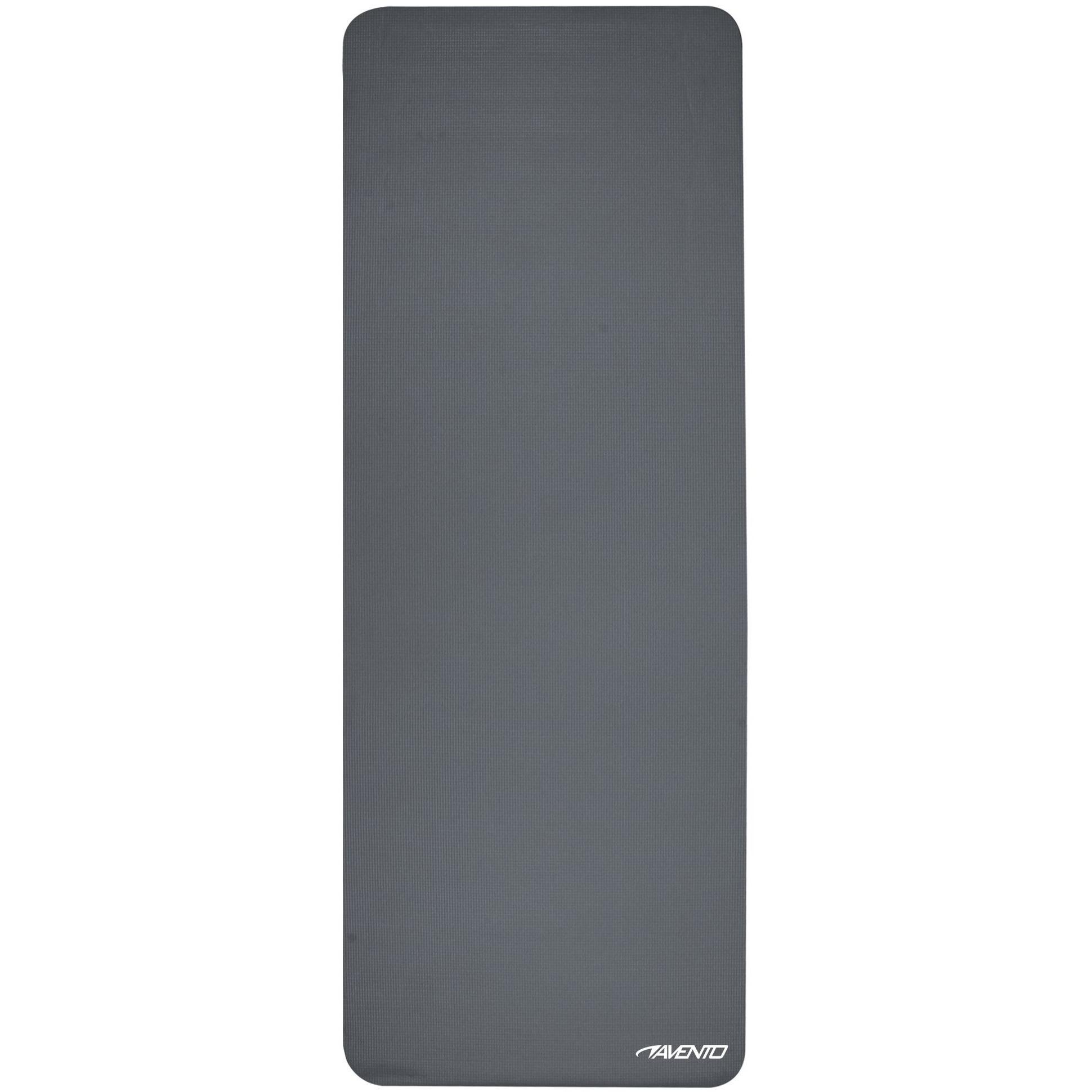Lichtgewicht yogamat grijs 173 x 61 cm