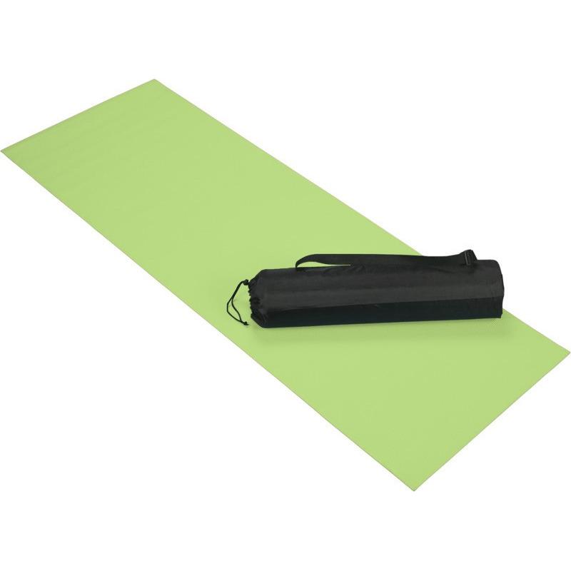 Lime groene yoga sportmat 60 x 170 cm