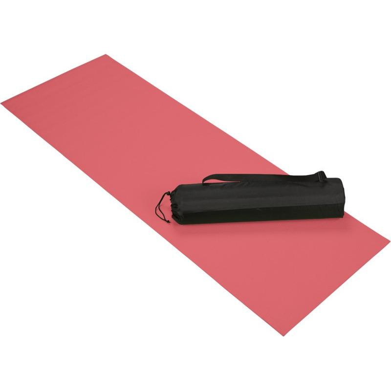 Rode yoga sportmat 60 x 170 cm