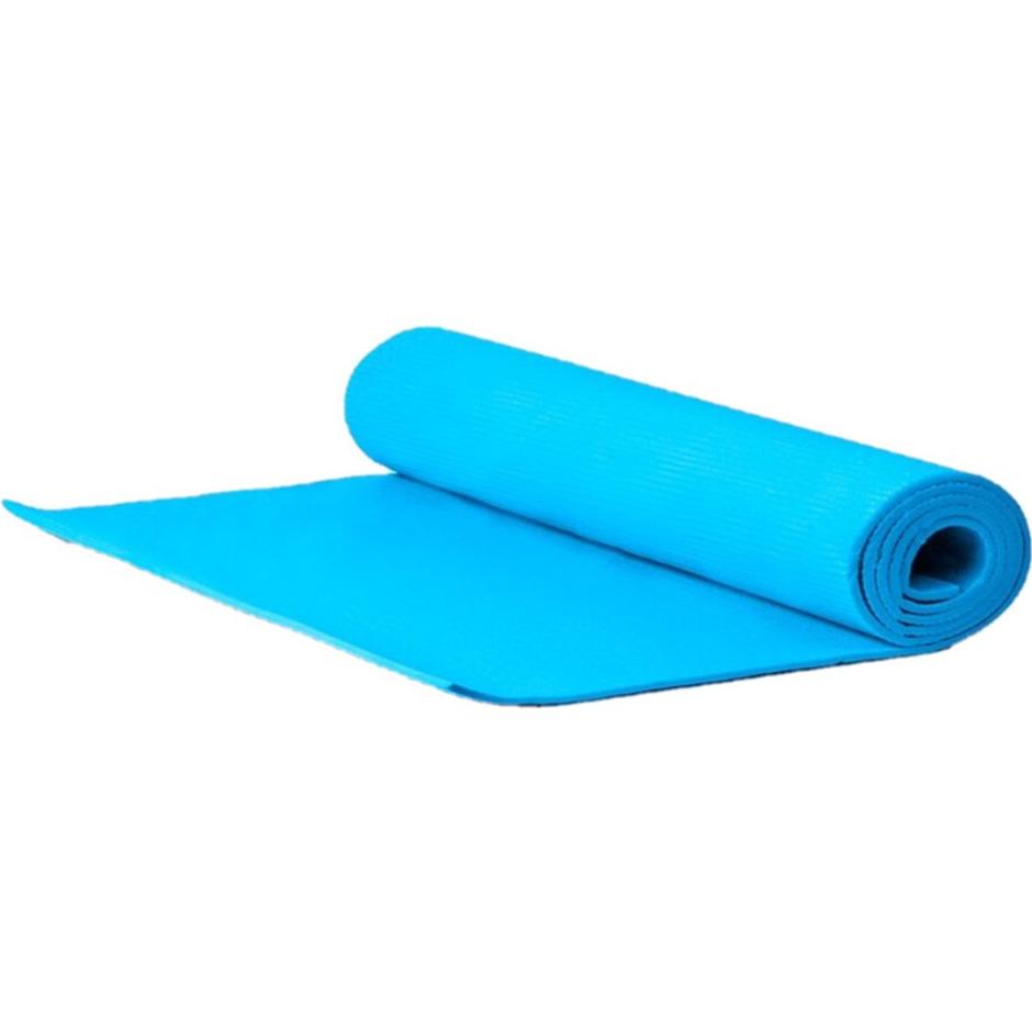 Yogamat sportmat blauw 170 x 60 x 0 3 cm