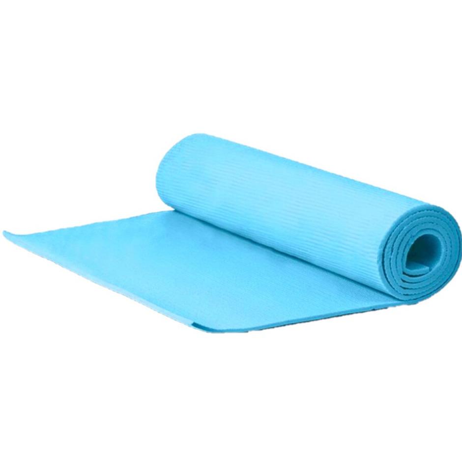 Yogamat sportmat blauw 180 x 51 x 1 cm