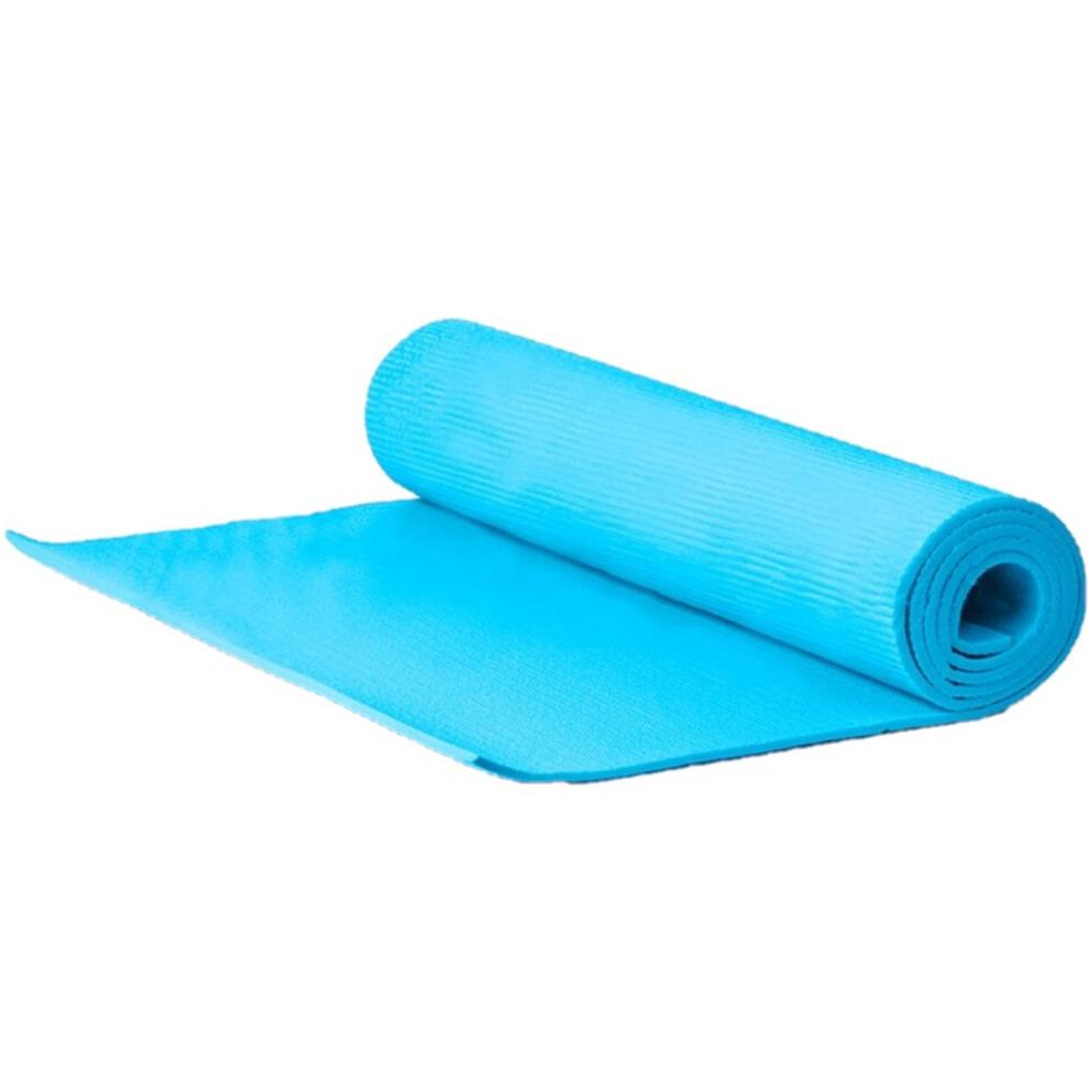 Yogamat sportmat blauw 183 x 60 x 1 cm