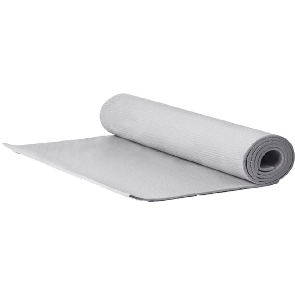 Yogamat sportmat grijs 170 x 60 x 0 3 cm