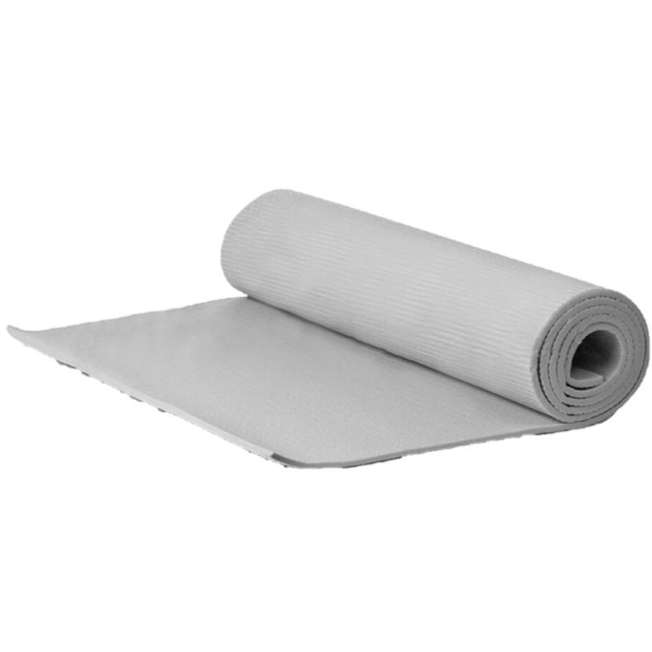 Yogamat sportmat grijs 180 x 51 x 1 cm