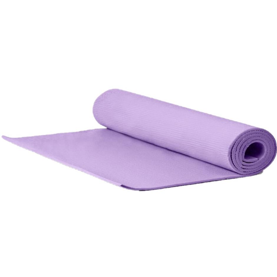 Yogamat sportmat lila 170 x 60 x 0 3 cm
