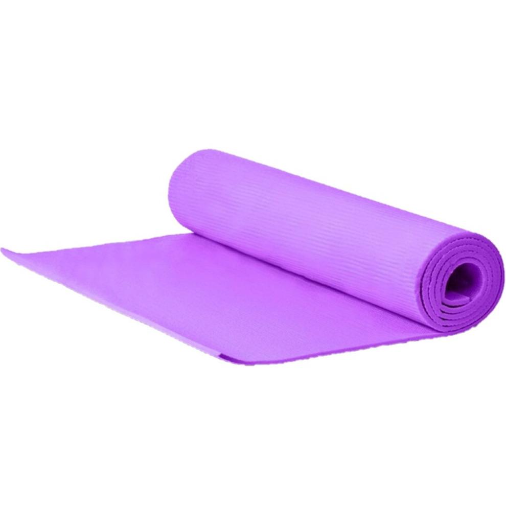 Yogamat sportmat paars 173 x 60 x 0 6 cm