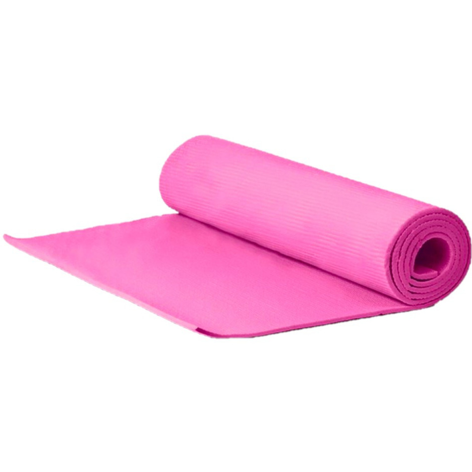 Yogamat sportmat roze 180 x 51 x 1 cm