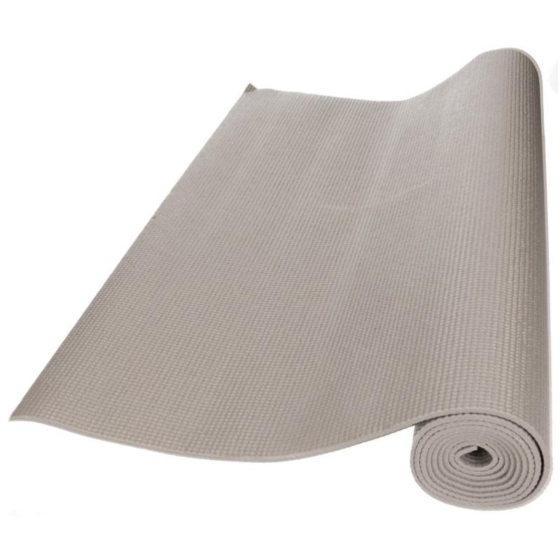 Yogamat zilver/grijs 173 x 61 cm